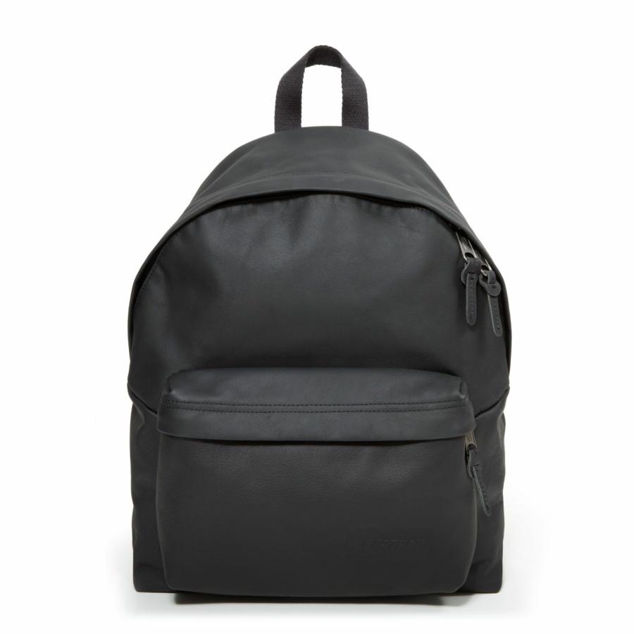 Sac à dos pour homme - Eastpak - Padded Pak'r® Black Ink Leather